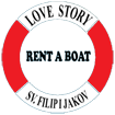 Love story rent a boat